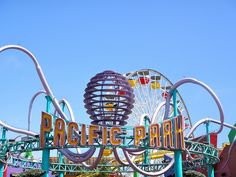 Roller coasters with an ocean view? Yes, in Fabulous Santa Monica...