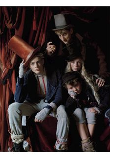Dressing Like the Dickens: photographed by Tim Walker, styled by Grace Coddington: Vogue US December 2013