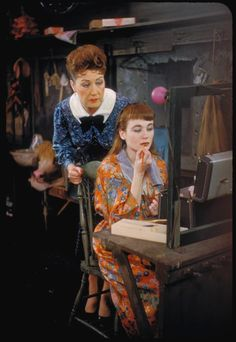 Ethel Merman And Sandra Church In Gypsy Broadway 1959 Musical Theatre