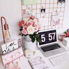 Home Office Decor Work Desk Decor, Study Room Decor, Bedroom Decor, Wall Decor, Desk Inspo, Desk Inspiration, Home Office Design, Home Office Decor, Home Decor