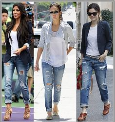 Boyfriend Levi's jeans,the ultimate street trend!