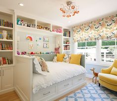 Интерьер маленькой детской: выбор цвета, стиля, отделки и мебели (70 фото)-2