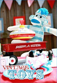Vintage Toys Baby Shower