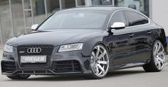 German tuning house Rieger Tuning has released a set of photos of their Sportback body kit. Not surprisingly, the kit is identical to the firm's fitments for coupe and cabriolet styles. Audi S5 Sportback, Audi Rs5, Wow Products, Volkswagen, Automobile, Bmw, Trucks, Cars, Vehicles