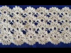 Las labores de punto-ganchos-dibujos y los esquemas >Узор // Нина Клибанскаяpunto Baby Knitting Patterns, Crochet Stitches Patterns, Crochet Motif, Crochet Shawl, Crochet Lace, Free Crochet, Stitch Patterns, Crochet Flower Tutorial, Crochet Flowers