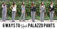 Merrick's Art // Style + Sewing for the Everyday Girl: 6 WAYS TO ROCK PALAZZO PANTS WITH LULU*S #Womens-Fashion