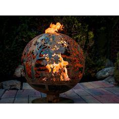 Found it at Wayfair - Fancy Flames Globe Wildlife Fire Outdoor Fire Pit