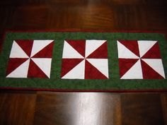Beautiful Christmas Table Runner with Free by GarciaBoutique