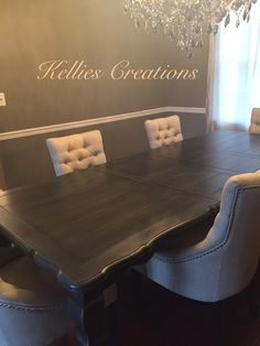 Painted Table By Https://www.facebook.com/Kellies Creations. Hand Painted  FurniturePainted Tables