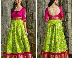 Salwar Designs, Lehenga Designs, Half Saree Designs, Fancy Blouse Designs, Kurta Designs Women, Saree Blouse Designs, Indian Blouse Designs, Blouse Patterns, Dress Designs