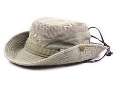Geersidan Men'S Bob Bucket Hats Fishing Wide Brim Hat Uv Protection Cap Men Sombrero Gorro Sun Hat For Men