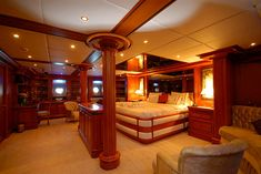 Galileo Yacht Interior - Seatech Marine Products / Daily Watermakers