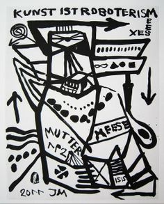 reputable site d72b6 2986d Jonathan Meese, Man, Experiment, Art Drawings, Arts Plastiques, Drawings,