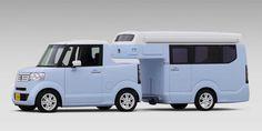 Le concept Honda N-TRUCK/N-CAMP, un mignon petit VR