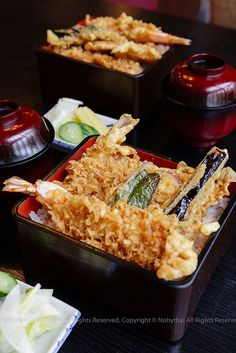 Tendon - tempura bowl