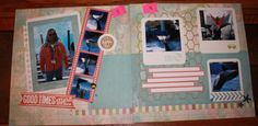 beach or lake scrapbooking layouts Close To My Heart-Seaside