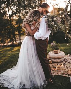 """Wedding Pics """"There is never a time or place for true love. It happens accidentally, in a heartbeat, in a single flashing, throbbing moment."""" ― Sarah Dessen :::::::::: Swipe through these amazing photos by - Wedding Goals, Wedding Pics, Boho Wedding, Destination Wedding, Dream Wedding, Wedding Day, Wedding Dresses, Wedding Bride, Woodland Wedding Dress"""