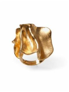 Gold Dimension Ring $14.97 At Piperlime, so cute!