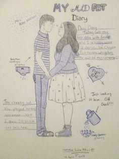 My Mad Fat Diary : Rae and Finn 4 by ThatLittleNerdGirl.deviantart.com on @DeviantArt