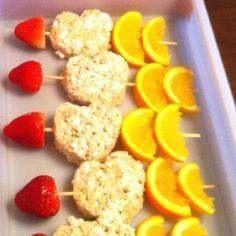 Valentine snack