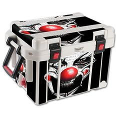 MightySkins Protective Vinyl Skin Decal for Pelican 35 qt Cooler wrap cover sticker skins Evil Clown *** Be sure to check out this awesome product.(This is an Amazon affiliate link)