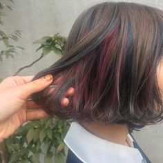 Plan Your Food Plan In Real 'Melonish' Style - My Website Hair Inspo, Hair Inspiration, Hair Streaks, Dream Hair, Rainbow Hair, Cool Hair Color, Pretty Hairstyles, Hair Goals, New Hair