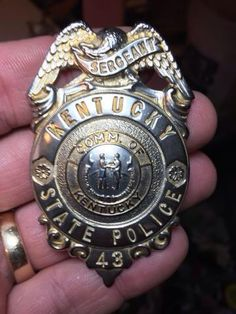 Kentucky State Police Badge