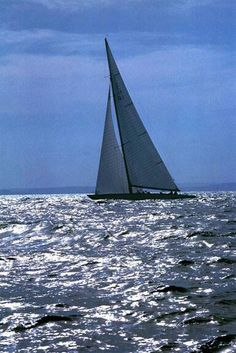 Gretel...12 metre yacht from Australia owned by Sir Frank Packer , 1962