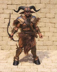 """Gobelin figure par quatre cavaliers Mythic légions 6/"""""""