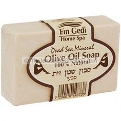 Natural Olive Oil Soap made with added Dead Sea Minerals.