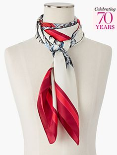 Exclusive Anniversary Collection Signature Scarf