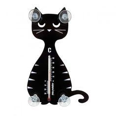 Thermometer Katze sitzend von Pluto jetzt im design3000.de Shop kaufen! Dass Katzen begabte Kletterer sind, ist allgemein bekannt. Nun schaffen es...