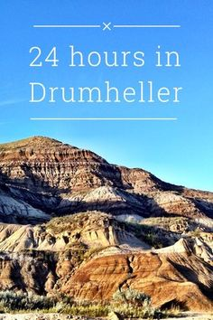 24 Hours in Drumheller, Alberta: Dinosaurs, Villages and Family Friendly Fun Travel With Kids, Family Travel, Drumheller Alberta, Alberta Travel, Canada Destinations, Canadian Travel, Visit Canada, Alberta Canada, North West