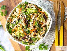 Paleo Chinese Chicken Salad | Linda Wagner