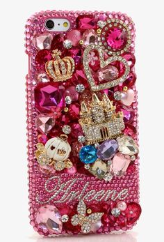 Bling Crystals Phone Case For IPhone 6 / 6s, IPhone 4, 5, 5S, 5C