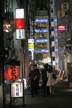 a street ,Shinbashi