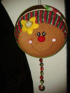 YOYO GALLETA Quilted Christmas Ornaments, Christmas Fabric, Christmas Items, Christmas Bulbs, Christmas Crafts, Christmas Decorations, Xmas, Holiday Decor, Pot Lids