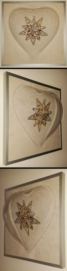 Ramka 3d - świetny pomysł na prezent, a że idą święta - można do niej włożyć gwizdkową dekorację:)