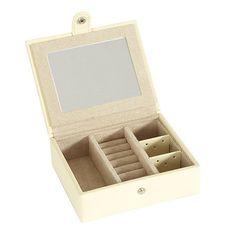 Hadley Leather Travel Jewelry Box