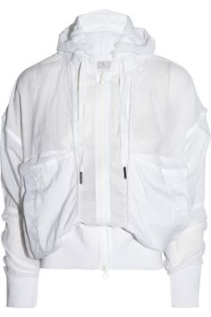 Adidas by Stella McCartney|Lightweight shell hooded jacket|NET-A-PORTER.COM