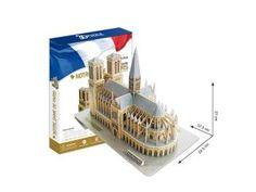 Cubic Fun 3D Puzzel Notre Dame 74-delig Bijna gratis.....zeer voordelig....