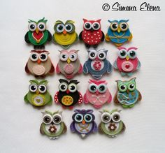 quilling designs for beginners Neli Quilling, Paper Quilling Earrings, Paper Quilling Flowers, Paper Quilling Patterns, Quilled Paper Art, Quilling Paper Craft, Quilling Ideas, Owl Paper, Quilling Tutorial