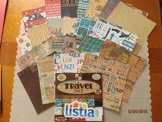 "24 Piece Paper Assortment ""Travel Stack"" DCWV"