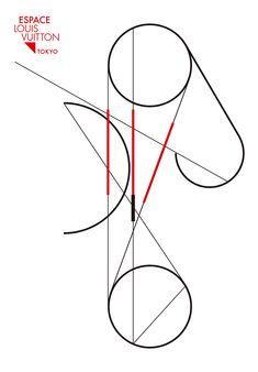 le fil rouge | Espace Louis Vuitton Tokyo
