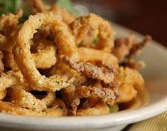 ¿No puedes comer gluten? ¡Que esto no te impida disfrutar de unos riquisimos calamares a la romana! #calamares #calamaressingluten #calamaresalaromana #recetassingluten