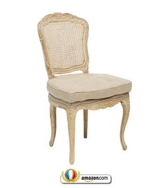 The Noah Dining chair will fit gracefully in a home that has a classic and soft aesthetic. If features a cane back that has been brought back to life and a beautifully tufted seat cushions for comfort. This chair features a cane back, and a lose seat cushion - Sells for $429
