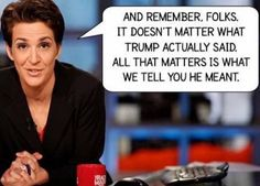 Well this can certainly work both ways.  XD. That could be coming from Hannity, for goodness sake.