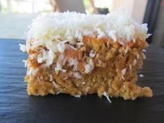 Gâteau à la noix de coco et eau gazeuse (Brésil, Portugal)
