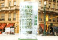 """7Up cria """"vending machine"""" feita de gelo em Buenos Aires"""