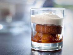 Sablés bretons au sucre d'érable, poêlée de coings, mousse aux épices #dessert